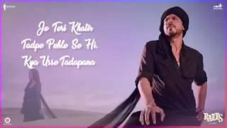 download lagu Zalima-raees 2017  Arijit Singh  Shahrukh Khan  gratis