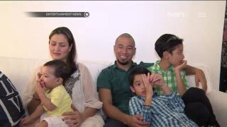 Keharmonisan Rumah Tangga ala Keluarga Marcell Siahaan