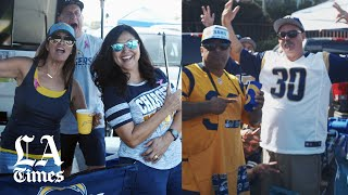 LA Rams and Chargers play at home on the same day for the last time