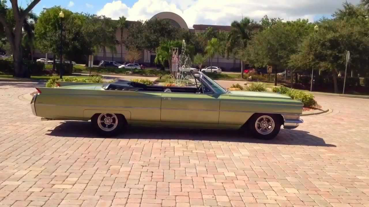 1964 cadillac coupe deville convertible youtube. Black Bedroom Furniture Sets. Home Design Ideas