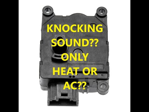 How to Troubleshoot and Replace Heat/AC Blend Door Actuator. 2006 Jeep Grand Cherokee