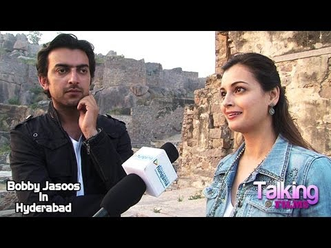 Dia Mirza Sahil Sangha Exclusive Interview On Bobby Jasoos In Hyderabad Part 3