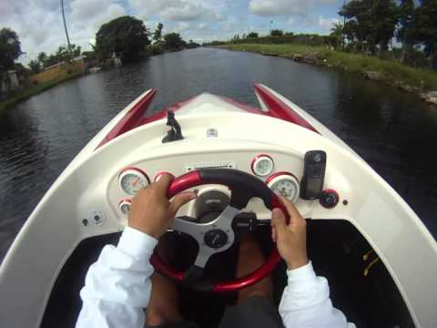 Chris Lopez STV Boat Gopro Helmet cam Miami