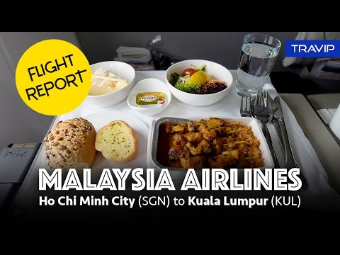 Malaysia Airlines Business Class: Ho Chi Minh City to Kuala Lumpur