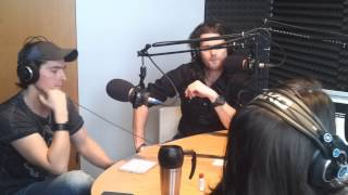 Kapela OFF na návšteve v rádiu Rebeca
