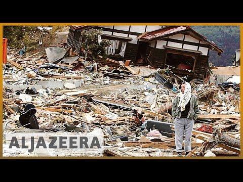 צונאמי הרסני ביפאן
