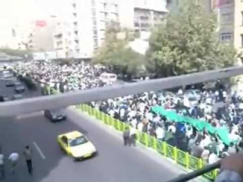 News from Iran, Protest in Tehran Sep 18 part1