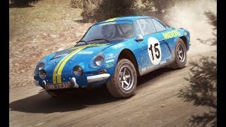 Dirt Rally - Renault Alpine Finnland