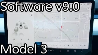 Tesla Model 3 Software v9.0 (2018.39.7)