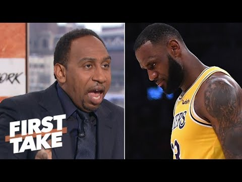 Stephen A.: LeBron didn't choke in overtime against Spurs | First Take