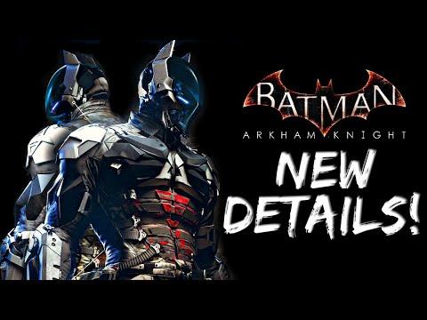 Batman Arkham Knight: New Arkham Knight Details!