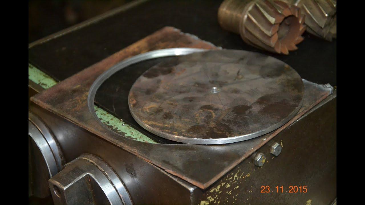 Как сделать полукруглое отверстие в металле