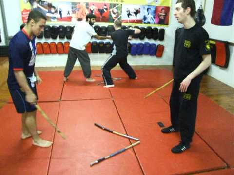 FMA-Eskrima-Kali-Arnis Class 7and 8 Footwork .Kickfit Martial Arts Academy,Nottingham,UK Image 1