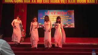 Múa bài ca cô giáo trẻ Giáo viên  trường mầm non Dương Liễu