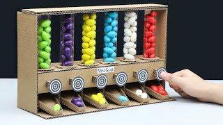 Wow! Amazing DIY Gumball Candy Dispenser