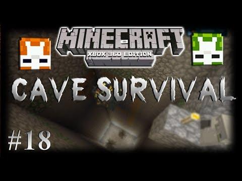 Minecraft Xbox360: Cave Survival Part 18