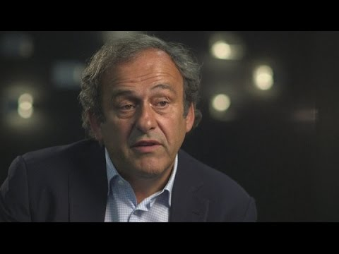 Platini wants to honour his contract with UEFA
