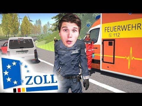 Erster Arbeitstag beim DEUTSCHEN ZOLL   Autobahn-Polizei Simulator