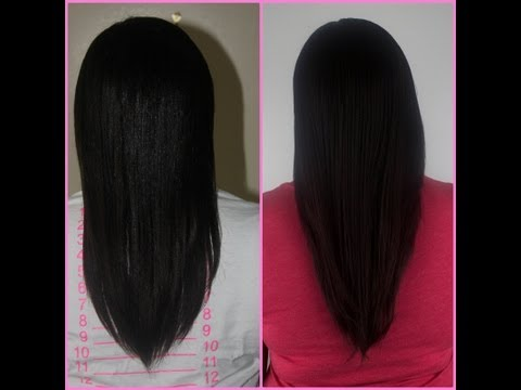 How I Grew My Relaxed/Texlaxed Hair Long