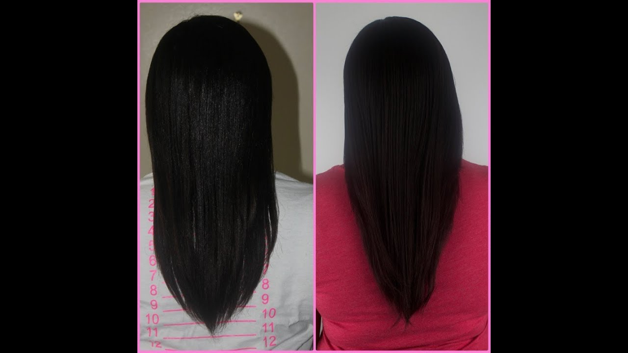 How I Grew My RelaxedTexlaxed Hair Long YouTube