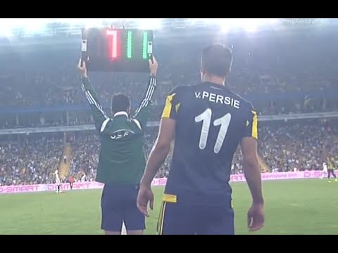 Robin Van Persie First Match | Fenerbahçe - Shakhtar 28/07/15 | Первый матч Ван Перси за Фенербахче