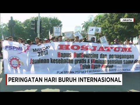 Kenaikan Gaji & Tolak Upah Murah, Tuntutan Hari Buruh Atau Mayday 2017