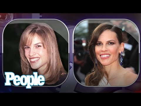 Hilary Swank's Changing Looks! - PEOPLE