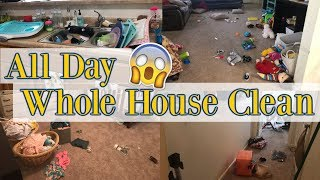 Whole House Clean | Clean with Me | Cleaning Motivation