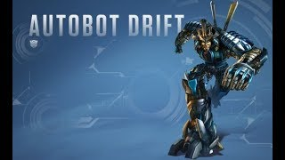 Transformers Saga all Drift scenes