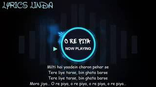 O RE PIYA FULL VIDEO SONG WITH LYRICS   ARMAAN MALIK   EK KAHANI JULIE KI   RAKHI SAWANT