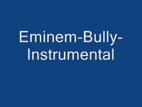 Eminem Bully Instrumental video
