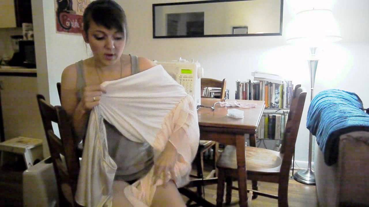 nerd it up how to fix a see through skirt easy for beginners youtube. Black Bedroom Furniture Sets. Home Design Ideas