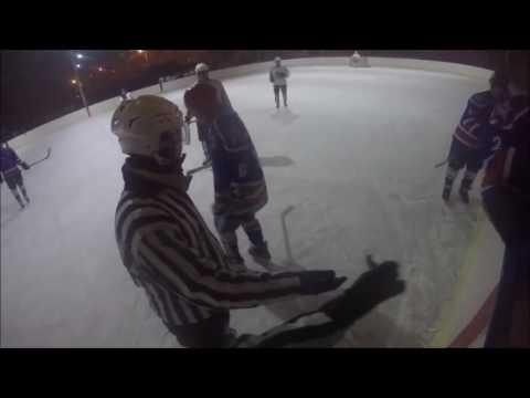 Бои без правил на льду в Улан-Удэ