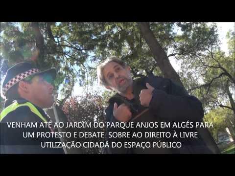 Filme Assembleia Popular de Alg�s protesto 23 NOV 2013