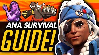 Overwatch Ana Guide Surviving In The Doomfist Sombra Meta Ft Daiya