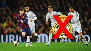 **NEW** Lionel Messi Destroying Real Madrid ● Skills & Goals ||HD||