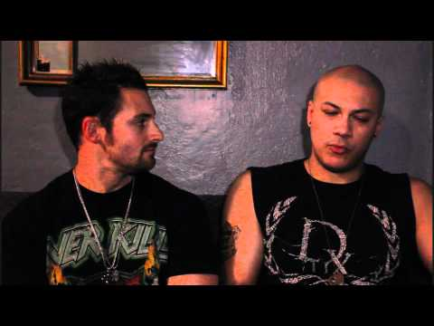 God Forbid Interview with Lead Guitarist Doc Coyle on The Electric Age Tour 2012