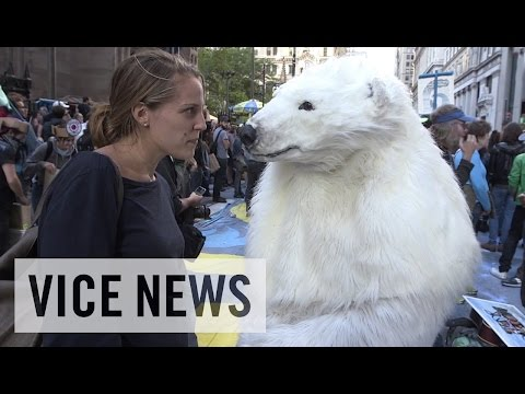 Protesters March Against Climate Change: Flood Wall Street