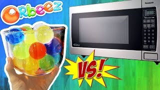 Orbeez VS Microwave (DANGER!)