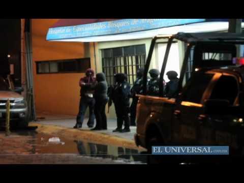 Registran balacera en hospital de Neza