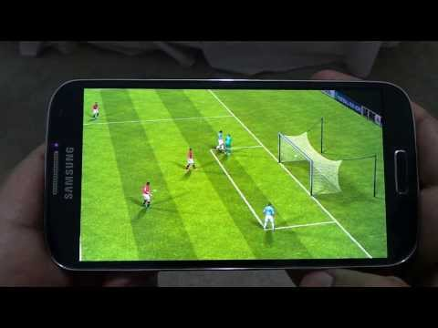 SAMSUNG GALAXY S4 FIFA 14 GAMEPLAY