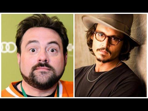 Kevin Smith & Johnny Depp Team Up For YOGA HOSERS - AMC Movie News