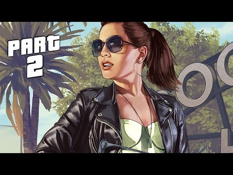 Grand Theft Auto 5 / GTA 5 Walkthrough Gameplay Part 2 - First Person (PS4)