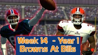 ESPN NFL 2K5 - Cleveland Browns At Buffalo Bills - Week 14