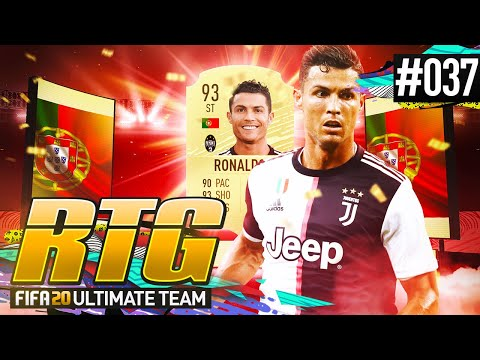 I GOT RONALDO! - #FIFA20 Road to Glory! #37 Ultimate Team