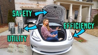 Tesla Model 3's Surprising Cargo Capacity!