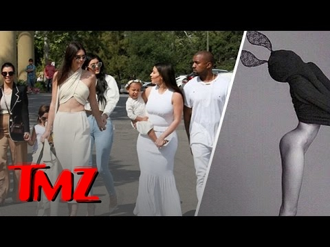 Kendall Jenner Show Skin At Easter Mass