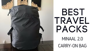 Best Travel Packs: Minaal Carry-On 2.0 Travel Backpack Review