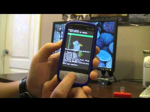 How To Get Android 2.3 Gingerbread On A Sprint HTC Hero