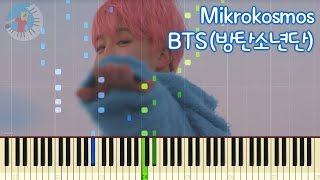 BTS 방탄소년단 【Mikrokosmos】 Piano Tutorial